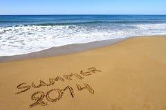 Sommer 2014 Lizenzfreie Stockbilder