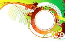 Sommer grunge Hintergrund Stockbilder