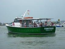 Sommer Headboat Fischen stockfotografie