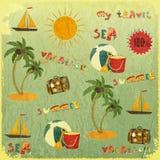 Sommer-Hintergrund Stockbild