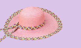 Sommer-Hut lizenzfreies stockfoto