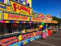 Sommer-Karnevals-Lebensmittel Lizenzfreies Stockfoto
