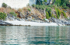 Sommer Kefalonia-Küstenansicht (Griechenland) Stockbild