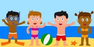 Sommer-Kinder Stockfotografie