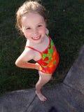 Sommer-Lächeln stockfoto