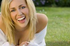Sommer-Lächeln Stockfotografie