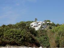Sommer-Landhaus Stockbilder