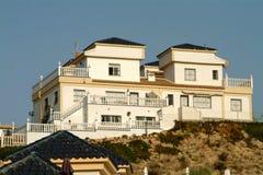Sommer-Landhaus, Spanien stockfotografie