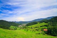 Sommer-Landschaft stockfotos