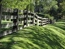 Sommer-Landschaft in der Nachbarschaft Lizenzfreies Stockfoto