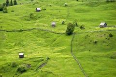 Sommer-Landschaft in Rumänien Lizenzfreie Stockfotos