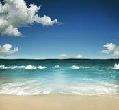 Sommer-Meer Stockfotos
