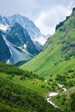 Sommer-Mountain View Lizenzfreies Stockbild