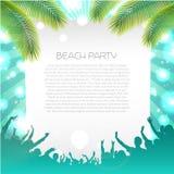 Sommer-Musik-Hintergrund - Vektor Lizenzfreies Stockbild