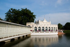 Sommer-Palast in Knall-PA innen, Thailand. Stockbild