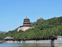 Sommer-Palast Peking Stockfotografie
