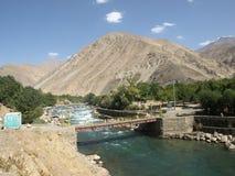 Sommer in Panjshir-Tal, Afghanistan Lizenzfreies Stockfoto