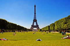 Sommer in Paris Lizenzfreies Stockfoto