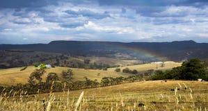 Sommer-Regenbogen Stockfotos