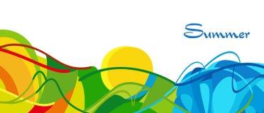 Sommer 2016 Rios Brasilien Lizenzfreies Stockfoto