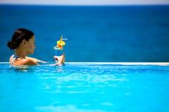 Sommer-Schönheit Lizenzfreies Stockfoto