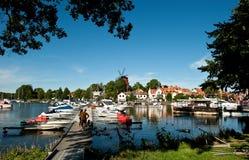 Sommer in Schweden Lizenzfreies Stockbild