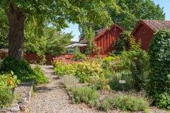 Sommer in Schweden lizenzfreie stockfotografie
