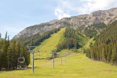 Sommer Ski Resort Stockbilder