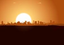 Sommer-Sonnenaufgang Lizenzfreies Stockfoto