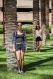 Sommer, Sonnenschein und Sonnenbrille Stockfotos