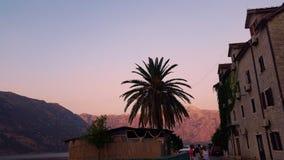 Sommer-Sonnenuntergänge Lizenzfreies Stockfoto
