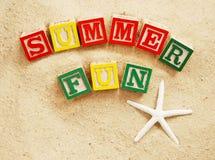 Sommer-Spaß stockbild