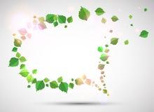 Sommer-Sprache-Luftblase. Stockfoto