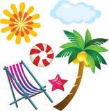 Sommer-Strand Lizenzfreies Stockbild