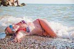 Sommer-Strand Stockfotografie
