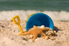 Sommer am Strand Lizenzfreies Stockfoto