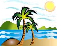 Sommer-Strand Lizenzfreie Stockbilder