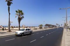 Sommer am Strand in Tel Aviv Lizenzfreie Stockfotografie