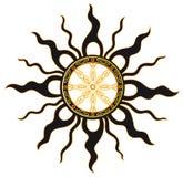 Sommer Sun Lizenzfreies Stockfoto