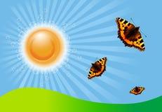 Sommer-Tag vektor abbildung
