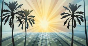 Sommer-Tageslicht vektor abbildung