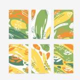 Sommer- und Frühlingskarte Creativel lizenzfreie abbildung