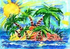 Sommer und Grün und Frühling und Natur und Stockbild