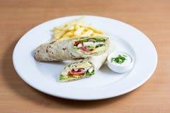 Sommer-Verpackungs-Salat Lizenzfreie Stockfotografie