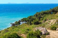 Sommer Vlore-Küste, Albanien Stockfoto