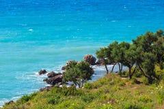 Sommer Vlore-Küste, Albanien Stockbilder