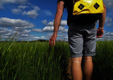 Sommer-Wege Lizenzfreie Stockfotografie