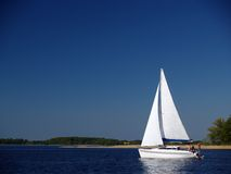 Sommer yachting royalty free stock image