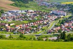 Sommerbergpanorama, Stara Lubovna Lizenzfreies Stockfoto