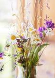 Sommerblumenstrauß der wilden Blume Stockfotos